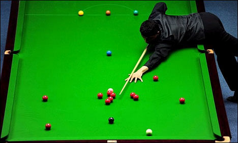 Indian Open snooker qualifying from ninth September