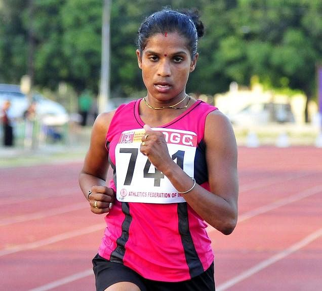 Asian Games 2014: O P Jaisha wins bronze in women's 1500m