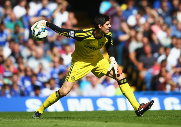 Chelsea goalkeeper Thibaut Courtois extends contract by five years
