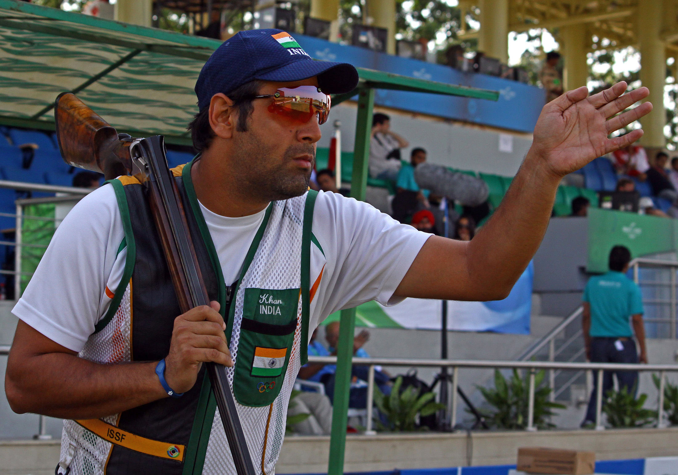 Asian Games 2014: Ahmad Mairaj Khan finished 5th in skeet qualification 1