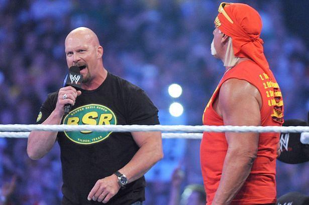 Stone Cold Steve Austin jokes about Wrestlemania match