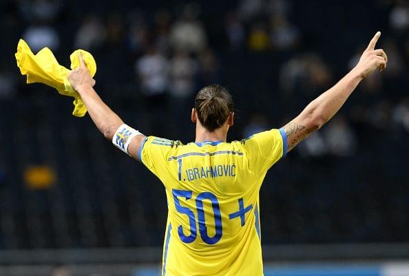 Video: Zlatan Ibrahimovic's back-heel goal vs Estonia makes him Sweden's all-time top scorer