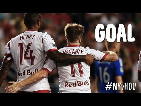 Video: Teammate starts celebrating even before Thierry Henry scores goal in MLS