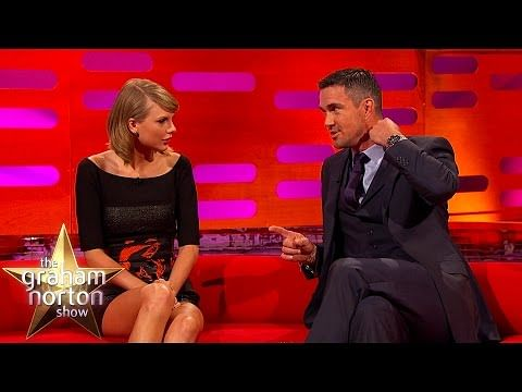 Video: Kevin Pietersen talks cricket to Taylor Swift