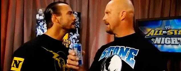 Interesting news on CM Punk vs Stone Cold Steve Austin