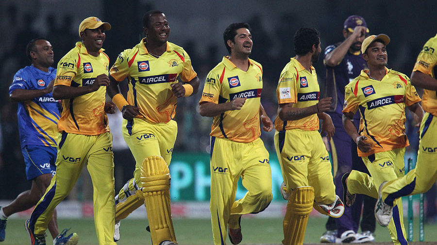 CLT20 2014: Chennai Super Kings v Kolkata Knight Riders - Player reactions