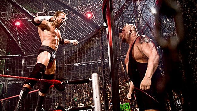 The Elimination Chamber being used to build SummerSlam PPV?