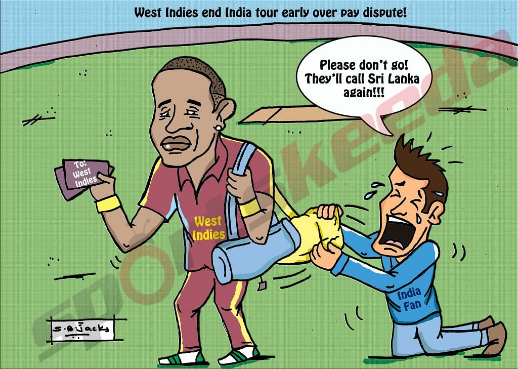 Comic: Why West Indies should not cancel their tour