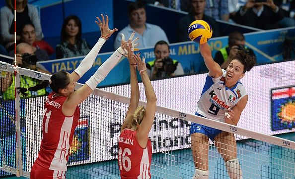 Italy beat Russia to send US into semis of FIVB Women's World Volleyball Championship