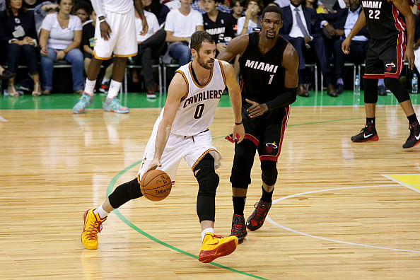Kevin Love sparkles as Cleveland Cavaliers beat Miami Heat in Rio