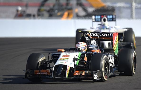 Sergio Perez and Nico Hulkenberg finish 10th and 12th at the Russian Grand Prix