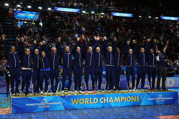 US beat China to win FIVB Women's World Championship title