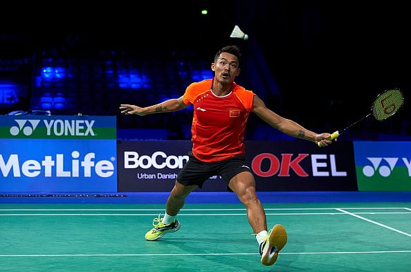 Lin Dan withdraws from Denmark Open due to injury