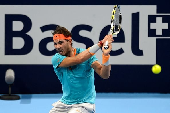 Rafael Nadal makes winning return at Basel