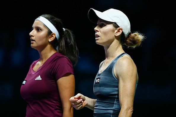 Sania Mirza creates history by reaching the WTA Finals