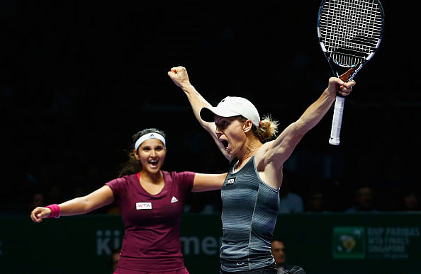 Sania Mirza -Cara Black enter WTA Finals summit clash
