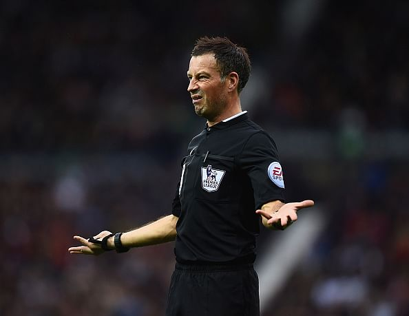 Mark Clattenburg dropped from officiating this weekend's Premier League fixtures for breaching protocol
