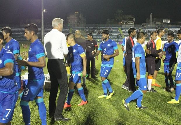 India lose 2-3 against Palestine in one-off friendly