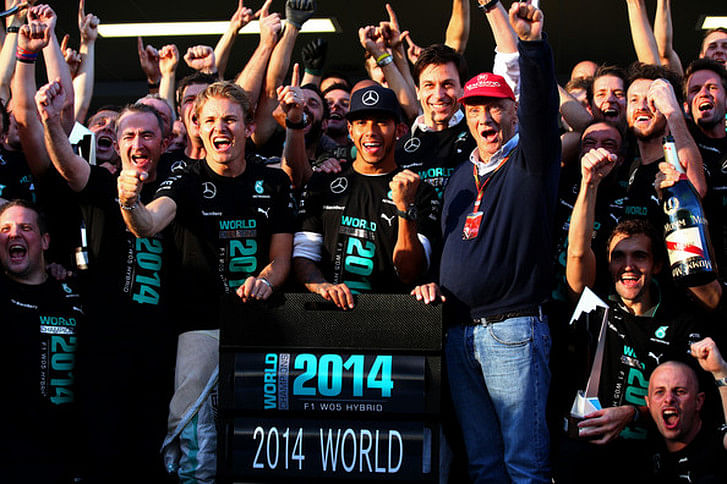 Toto Wolff gives Ross Brawn the credit for laying the foundation of Mercedes' winning team