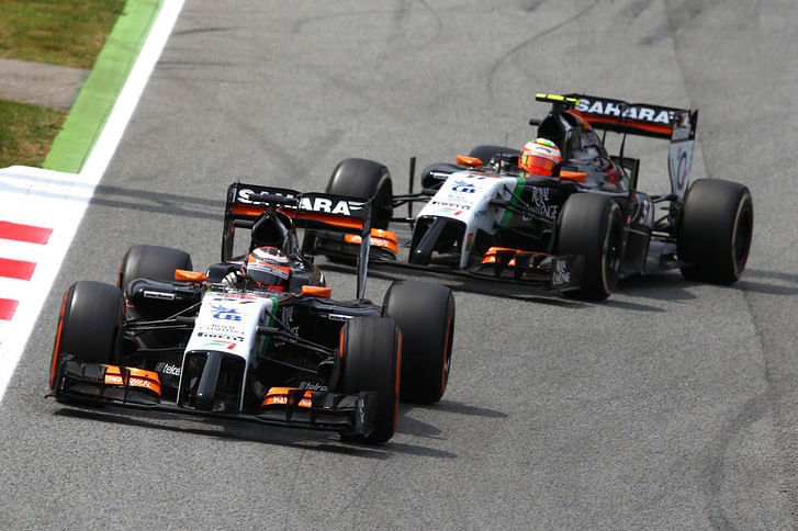 Hulkenberg vs Perez: As close as it can get
