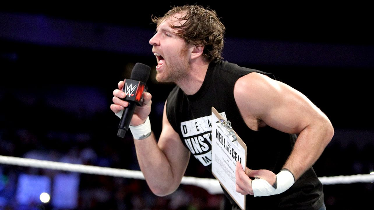 Dean Ambrose Talks Brock Lesnar Not Defending The WWE Title, If He's In The HIAC Main Event, More