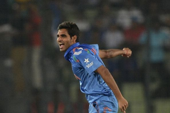 Bhuvneshwar Kumar on shortlist for this year's LG People's Choice Award
