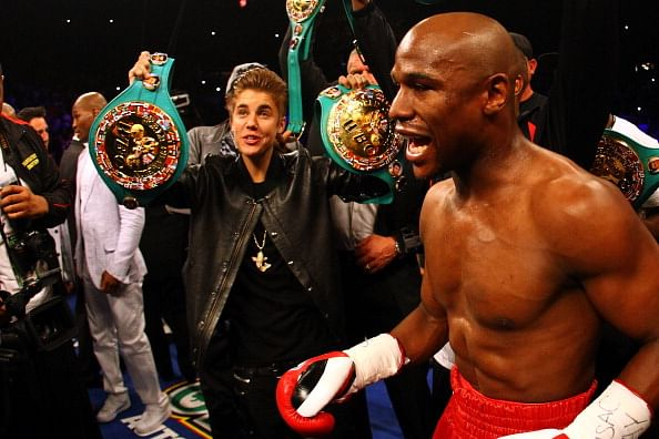 Justin Bieber has potential to be a boxer