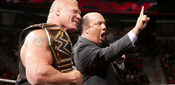 Brock Lesnar could defend his title at Royal Rumble next year