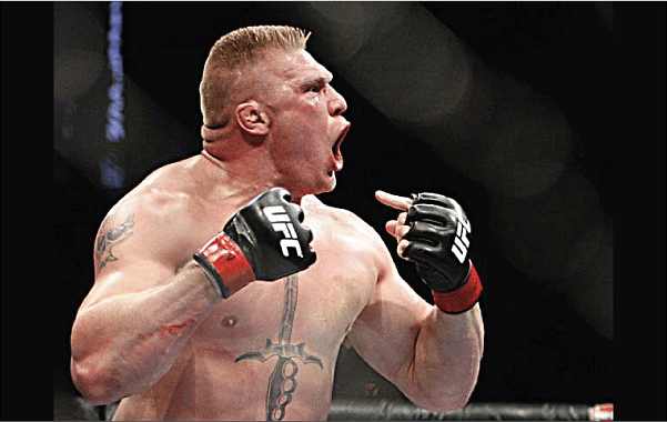One ufc 100 brock lesnar asshole hot wife