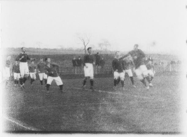Video: The first ever recorded match of Manchester United on video