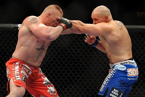 Former UFC opponent of Brock Lesnar wants a rematch