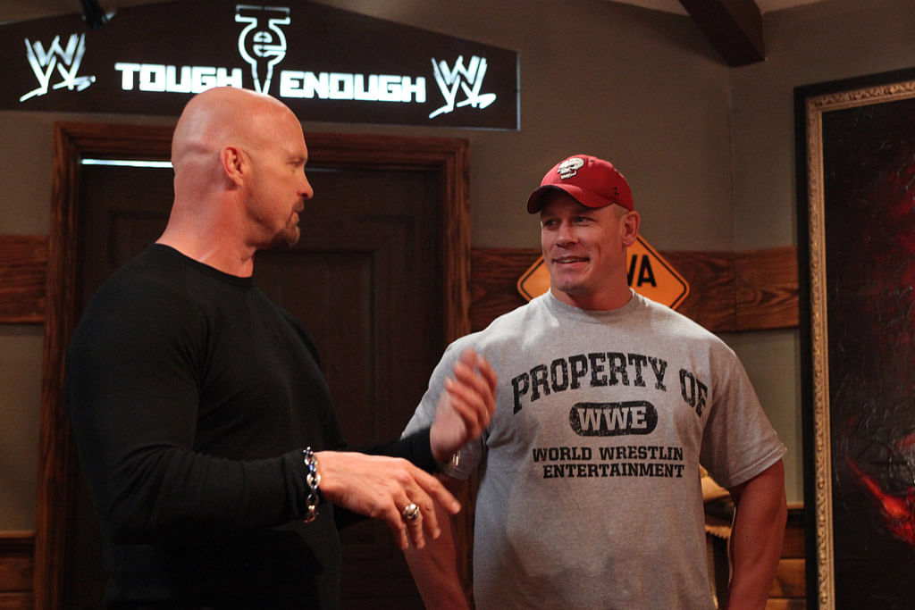 John Cena indicates a Stone Cold return to the WWE