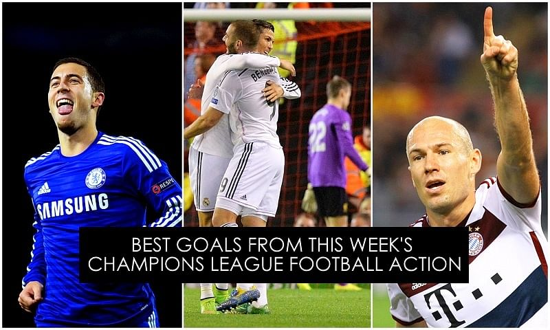 Seven of the best goals from UEFA Champions League this week - 21/22 October, 2014