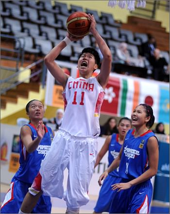 China and Japan enter final of women's FIBA ASIA under-18