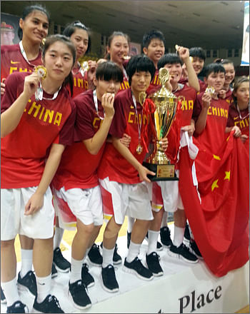China beats Japan to lift the FIBA Asia under-18 women's title