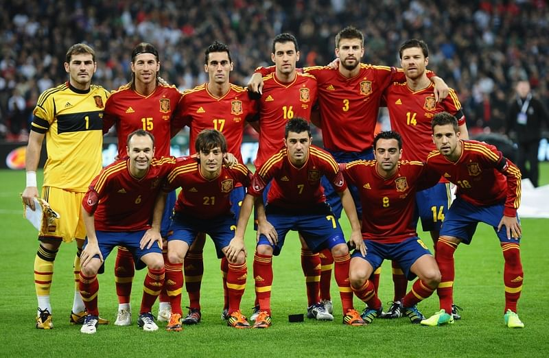The evolution of La Furia Roja: Spanish national team moving out of the shadow of Barcelona and Real Madrid