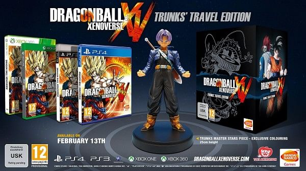 Dragon Ball Xenoverse special edition and Pre-Orders announced
