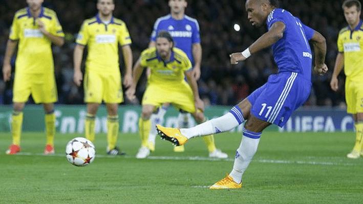 UEFA Champions League: Chelsea vs Maribor 6-0- Match report