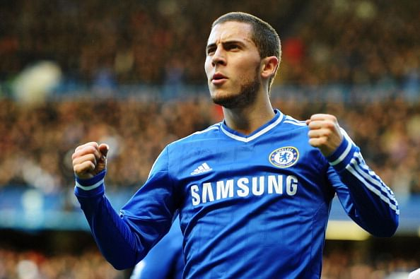 Video: Ten best goals scored by Chelsea star Eden Hazard