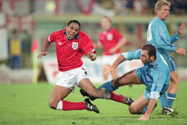 Blast from the past : England's World Cup qualifier against San Marino back in 1993