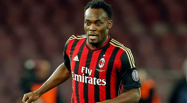 AC Milan: Michael Essien has not contracted the Ebola virus