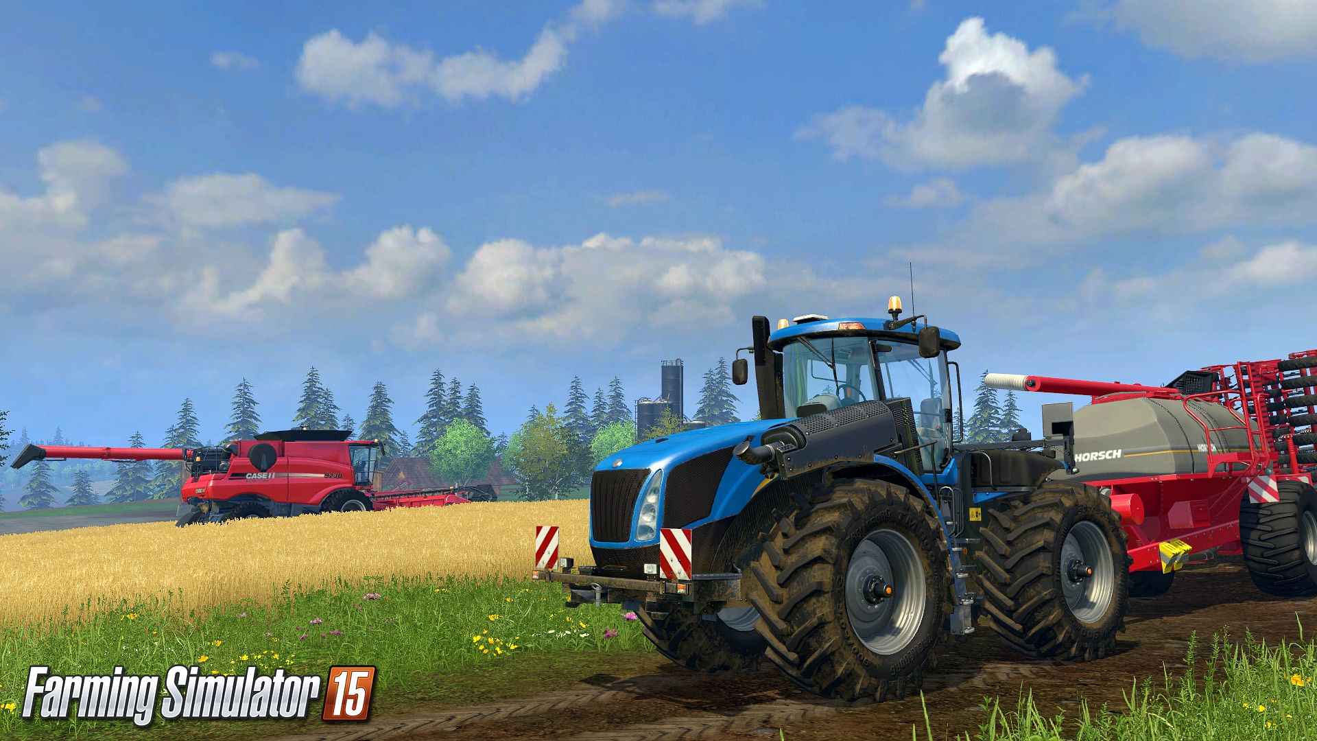 Gameplay teasers revealed for Farming Simulator 2015