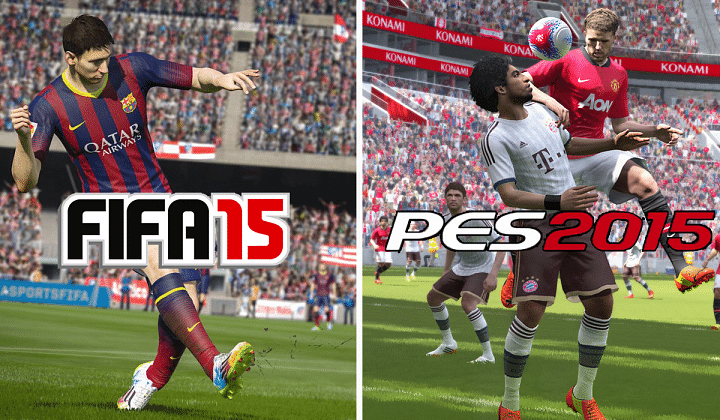 PES 2015 vs FIFA 15: Face comparison of Barcelona players