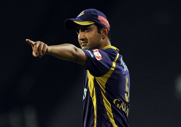Gautam Gambhir and his undying spirit towards the game of cricket