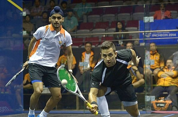 Asiad medalists Mangaonkar and Sandhu in title round