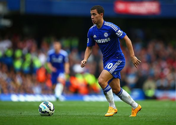Chelsea's Eden Hazard names 5 players better than him