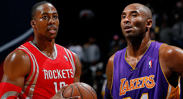 Video: Heated exchange between Kobe Bryant and Dwight Howard