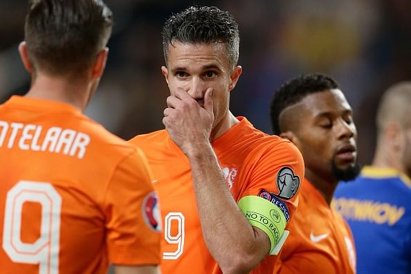 Video: Robin van Persie and Klaas Jan Huntelaar have a major argument