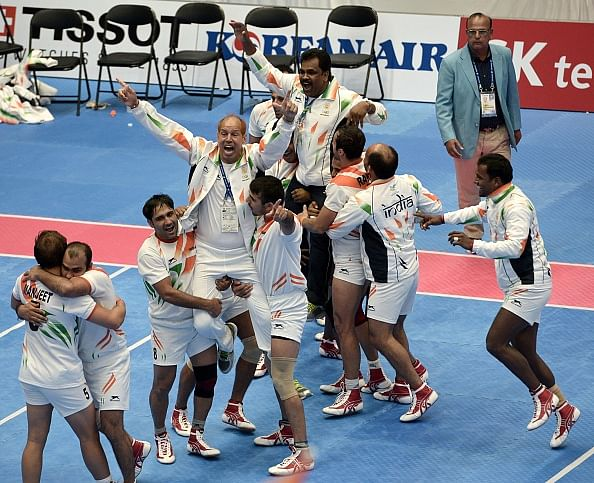 Best tweets following double gold in men's and women's kabaddi