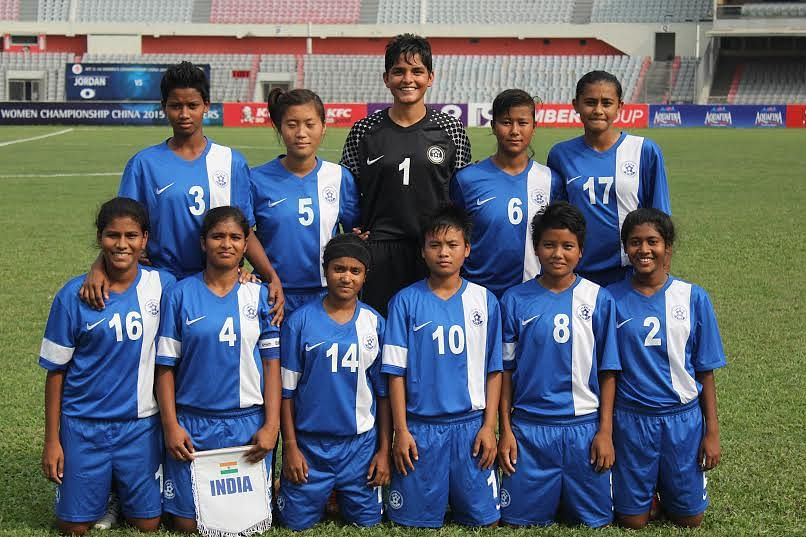 AFC U-16 Women's Championship 2015 Qualifiers: India end campaign on a high, miss qualification by a whisker